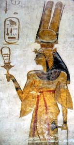 Nefertari holding sistrum