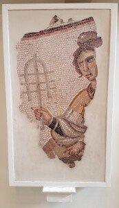 sistrum floor mosaic